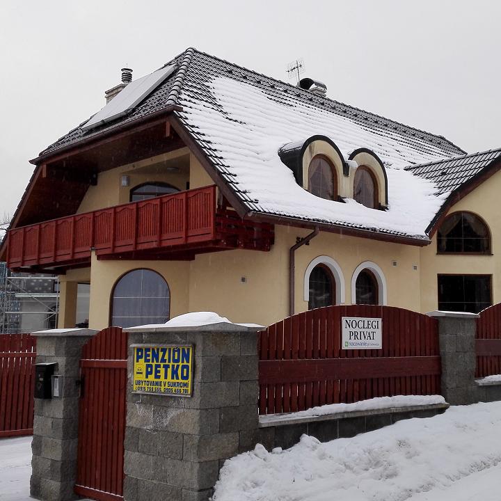 Evohome v tatranskom penzióne